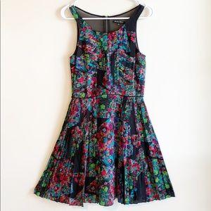 NEW Madewell | B&B silk pleated dress